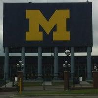Photo taken at Michigan Stadium by Chris M. on 8/5/2012