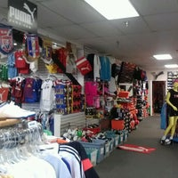 Photo taken at The Soccer Store by Mariana D. on 6/6/2012