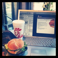 Photo taken at Chick-fil-A Peachtree at Collier by Katie M. on 3/15/2012