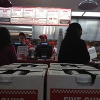 Photo taken at Five Guys by Simon B. on 2/24/2012