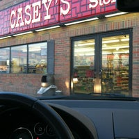 Photo taken at Casey's General Store by Colin W. on 4/23/2012