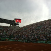 Photo taken at Court Suzanne Lenglen by Marie on 5/30/2012