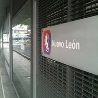 Photo taken at Metrobús Nuevo León-L2 by Wolfkon on 8/18/2012