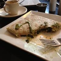 Photo taken at Brasserie Creperie by Linda Z. on 7/22/2012