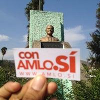 Photo taken at Busto de Rufo Figueroa by Inti A. on 5/24/2012