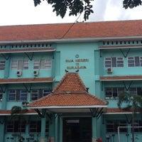 Photo taken at SMA Negeri 13 Surabaya by bahtiar k. on 3/8/2012