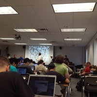 Photo taken at UCF Nicholson School of Communication by Carlos G. on 2/16/2012