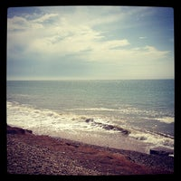 Photo taken at West Beach Selsey by Ceri D. on 8/19/2012