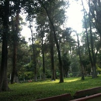 Photo taken at Parque de La Loma by Guillermo G. on 8/28/2012