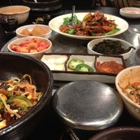 Photo taken at Honey Pig Korean BBQ by MissyNina💋 on 8/26/2012