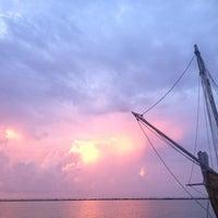 Photo taken at Corpus Christi Bay by Samantha L. on 7/18/2012