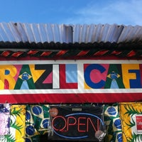 Photo taken at Brazil Fresh Squeeze Cafe by Cesar R. on 4/15/2012