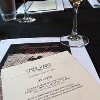 Photo taken at Chez Papa Resto by Sandra C. on 7/15/2012