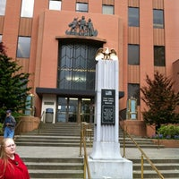 Photo taken at Clark County Courthouse by Nicholas W. on 4/24/2012