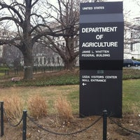 Photo taken at U.S. Department of Agriculture (USDA) Jamie L. Whitten Building by David D. on 2/14/2012