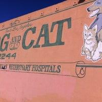 Photo taken at Whittier Dog & Cat Hospital by Gladys F. on 6/8/2012