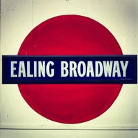 Photo taken at Ealing Broadway Railway Station (EAL) by Pil S. on 4/25/2012
