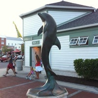 Photo taken at Rehoboth Beach Bandstand by Gar G. on 8/4/2012