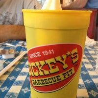 Photo taken at Dickey's BBQ by Janine R. on 5/11/2012