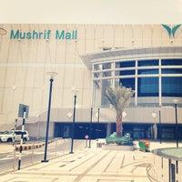 Photo taken at Mushrif Mall by Joooooooooooooooooooo on 9/11/2012