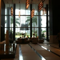 Photo taken at Kimpton EPIC Hotel by Angelie L. on 5/16/2012
