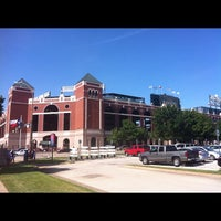 Photo taken at Globe Life Park in Arlington by Jay R. on 7/31/2012