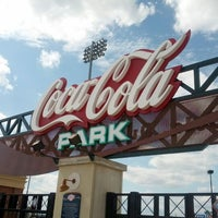 Photo taken at Coca-Cola Park by Frank M. on 6/2/2012
