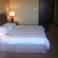Photo taken at Sheraton Poznan Hotel by Marian W. on 6/23/2012