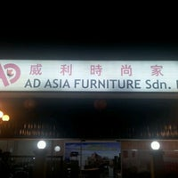 Photo taken at AD Asia Furniture by Thin Wai C. on 3/16/2012