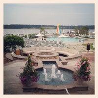 Photo taken at Wequassett Resort and Golf Club by Zach K. on 7/4/2012