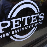 Photo taken at Pete's New Haven Style Apizza by Gautam C. on 4/4/2012