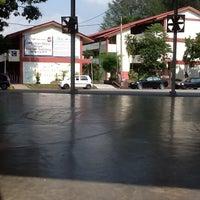 Photo taken at SMK Jalan Damai by Vincent B. on 3/23/2012