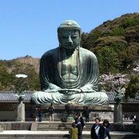 Photo taken at Great Buddha of Kamakura by Apinya S. on 4/12/2012