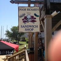 Photo taken at Poor Richard's Sandwich Shop by Richard R. on 5/31/2012