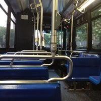 Photo taken at MTA Bus - 7 Av & W 57 St (M31/M57/X12/X14/X30/X42) by Chuck A. on 7/30/2012