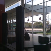 Photo taken at Estación Ferroautomotora de Mar del Plata by Lu D. on 2/29/2012