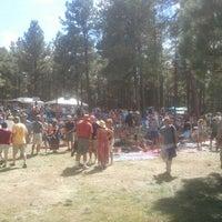 Photo taken at Four Corners Folk Festival by Tony E. on 9/1/2012