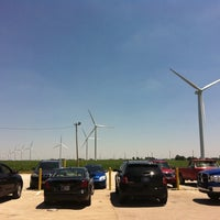 Photo taken at Meadow Lake Wind Farm by Ashley on 6/8/2012