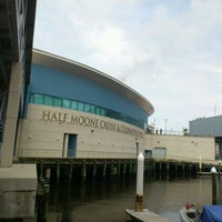 Photo taken at Half Moone Cruise and Celebration Center by Jorge T. on 5/15/2012