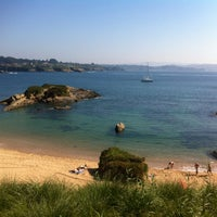 Photo taken at Praia de Espiñeiro by Iván I. on 5/23/2012