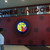 Photo taken at Cines Unidos by Rodolfo R. on 6/18/2012