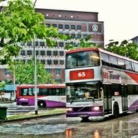 Photo taken at Tampines Bus Interchange by Щахарул Ануар И. on 2/20/2012