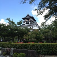 Photo taken at Inuyama Castle by honeorizon on 8/12/2012