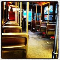 Photo taken at TTC Streetcar #504 King St by Chris M. on 2/17/2012