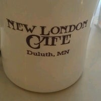 Photo taken at New London Cafe by Jonathan C. on 8/18/2012