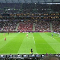 Photo taken at UEFA EURO 2012 Poland / Ukraine by Grzegorz S. on 6/21/2012