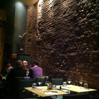 Photo taken at Trattoria A Casa Mia by Bianca on 3/28/2012