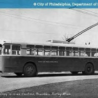 Photo taken at SEPTA: Trolleybus Route 59 by Dennis L. on 6/22/2012