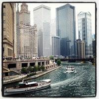 Photo taken at Chicago Riverwalk by Becky B. on 7/13/2012