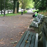 Photo taken at St. Nicholas Park by Damian C. on 8/11/2012